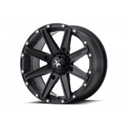 Jante utilitaire MSA WHEELS M33 Clutch aluminium noir 12x7 4x137 4+3