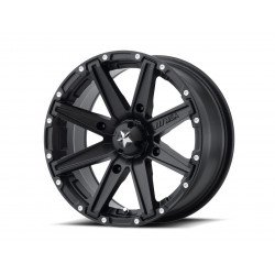 Jante utilitaire MSA WHEELS M33 Clutch aluminium noir 14x7 4x110 4+3