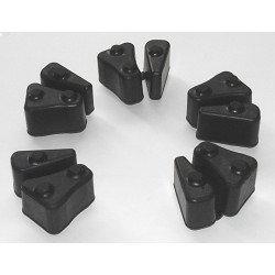 Kit amortisseurs de couple complet TOURMAX roue arrière Braking B-One
