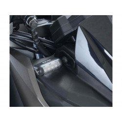 Adaptateur micro clignotant R&G RACING noir Kawasaki