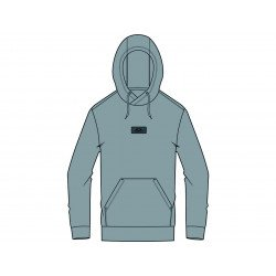 Hoodie OAKLEY Patch Fleece Fog Grey taille L