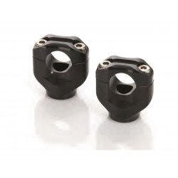 Pontets noir Black bar mounts LSL Ø 28.6 mm