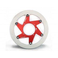 Disque de frein BERINGER H16LGRF Aeronal® fonte rond flottant rouge