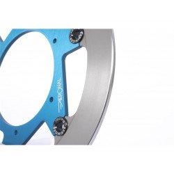 Disque de frein BERINGER KT2LGBLF Aeronal® fonte rond flottant bleu