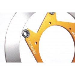 Disque de frein BERINGER KT2LGOMMF Aeronal® fonte rond flottant orange