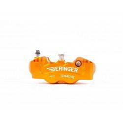 Etrier de frein radial gauche BERINGER Aerotec® 4 pistons Ø32mm entraxe 108mm orange