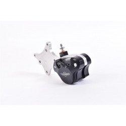 Etrier de frein axial BERINGER Classic 2 pistons noir avec patte de fixation