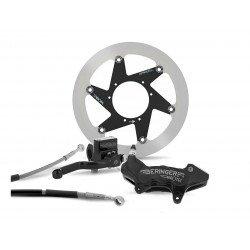 """Kit freinage BERINGER Top Race roue 17"""" étrier Aerotec® axial 6 pistons noir KTM/HVA"""