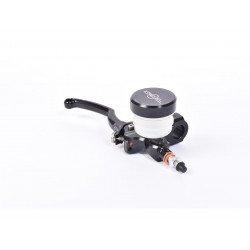 Maître-cylindre de frein axial BERINGER Classic Ø20,5mm bocal vissé noir (levier type A - 16cm noir)