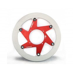 Disque de frein BERINGER K20LGRI Aeronal® inox rond flottant rouge