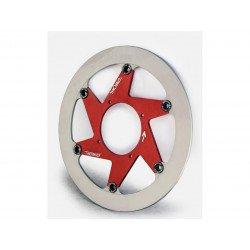 Disque de frein BERINGER H17LGRI Aeronal® inox rond flottant rouge