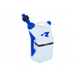 Bidon d'essence RACETECH remplissage rapide 15L translucide/bleu