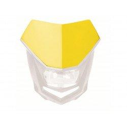 Plaque phare amovible POLISPORT Halo jaune RM