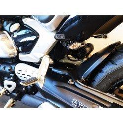 Support de plaque ACCESS DESIGN latéral noir Triumph Rocket 3