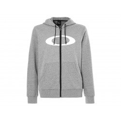 Hoodie OAKLEY Ellipse FZ Athletic Gray taille M