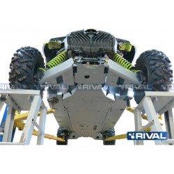 Kit Sabot complet RIVAL alu Can Am Maverick
