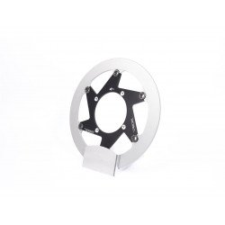 Disque de frein BERINGER H25RDBI Aeronal® inox rond flottant noir