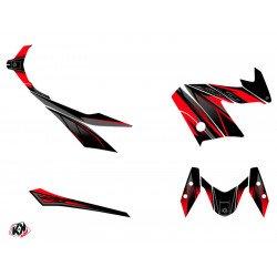 Kit déco KUTVEK Replica rouge/noir Yamaha X-Max 400