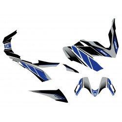 Kit déco KUTVEK Replica bleu/gris Yamaha T-Max 530
