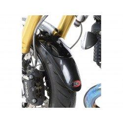 Extension de garde-boue avant R&G RACING effet carbone Triumph Speed Triple 1050