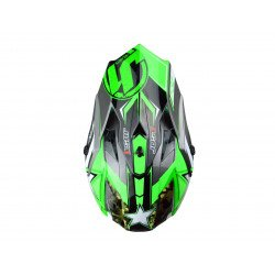 Casque JUST1 J32 Moto X Green taille S