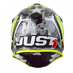 Casque JUST1 J32 Moto X Yellow taille XS