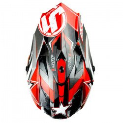 Casque JUST1 J32 Moto X Red taille L