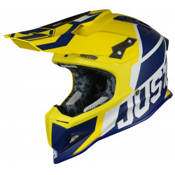 Casque JUST1 J12 Unit Blue/Yellow taille M