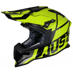 Casque JUST1 J12 Unit Neon Yellow taille XL