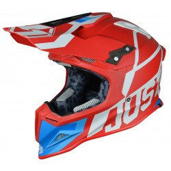 Casque JUST1 J12 Unit Red/White taille S