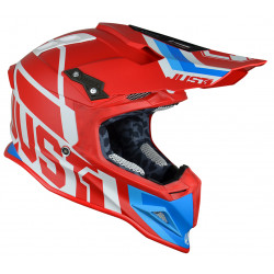 Casque JUST1 J12 Unit Red/White taille M