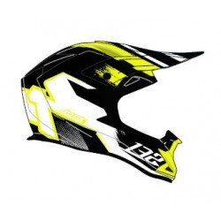 Casque JUST1 J32 Pro Kick White/Yellow/Black Gloss taille S