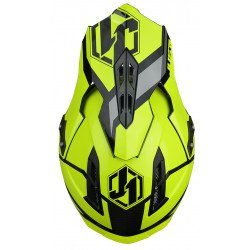 Casque JUST1 J12 Unit Neon Yellow taille S