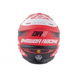 Casque ANSWER AR5 Pulse rouge/blanc taille XL