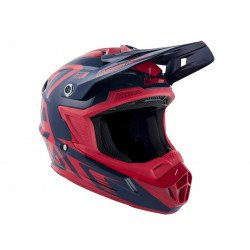 Casque ANSWER AR1 Edge Midnight/Bright Red taille XXL
