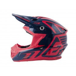 Casque ANSWER AR1 Edge Midnight/Bright Red taille M