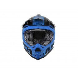 Casque JUST1 J32 Pro Swat Camo Fluo Blue Gloss taille S