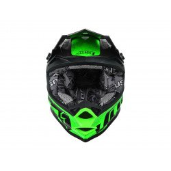 Casque JUST1 J32 Pro Swat Camo Fluo Green Gloss taille L