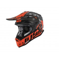 Casque JUST1 J32 Pro Swat Camo Fluo Orange Gloss taille S