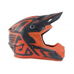 Casque ANSWER AR1 Edge Charcoal/orange fluo taille L