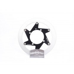 Disque de frein BERINGER HD4GBI Aeronal® inox rond flottant noir