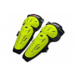 Genouillères UFO Limited jaune fluo