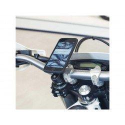 Pack complet SP-CONNECT Moto Bundle fixé sur guidon Note 20