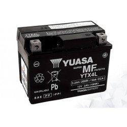 Batterie AGM Activated Pré-remplie YUASA YTX4L (4LBS)
