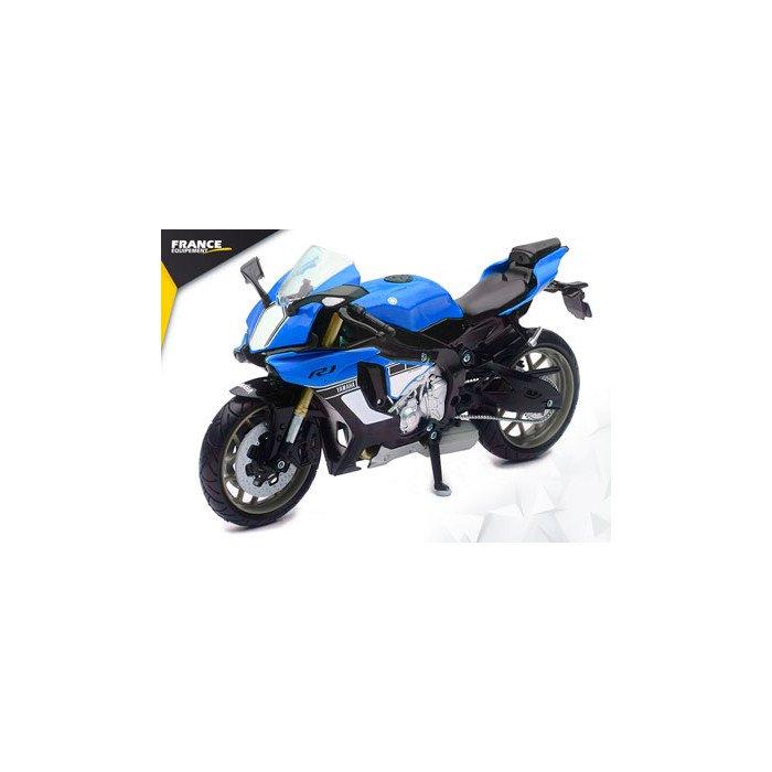 Durite de frein avant speedbrakes carbone//raccord bleu yamaha yzf-r1