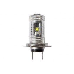 1 BLISTER DE 2 AMPOULES LED H7