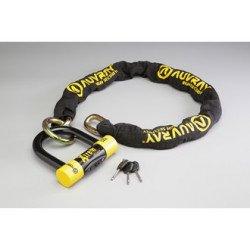 ANTIVOL AUVRAY CHAINE XTREM MEDIUM D.13,5 L.100cm + Cadenas
